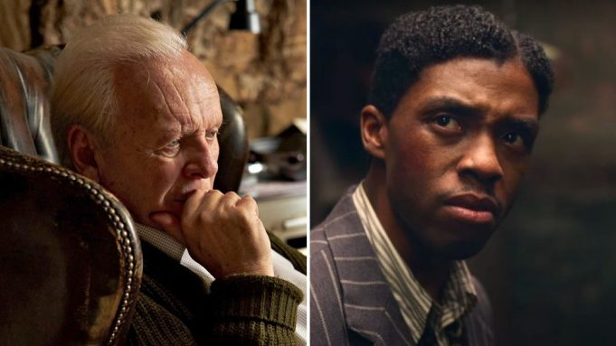 Anthony Hopkins beats Chadwick to Oscar best actor