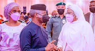 Osinbajo extols Aisha Buhari's virtues as book on First Lady is launched