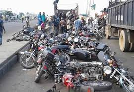 Lagos Impounds 81 Motorcycles on Restricted Routes