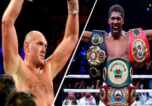 Joshua vs Fury: Promoters bicker over contract