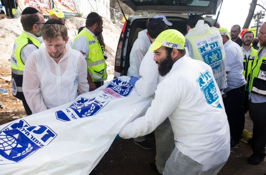 Israeli Religious Festival Stampede Kills Dozens.
