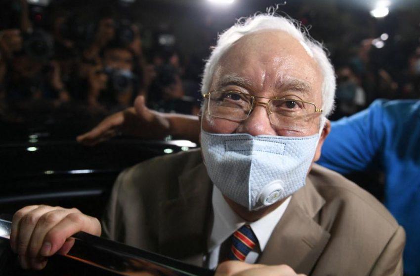 Malaysian Ex-PM Najib fined for Breaking virus Rules.
