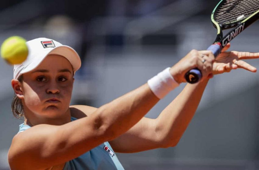 Madrid Open: Ashleigh Barty In Final.