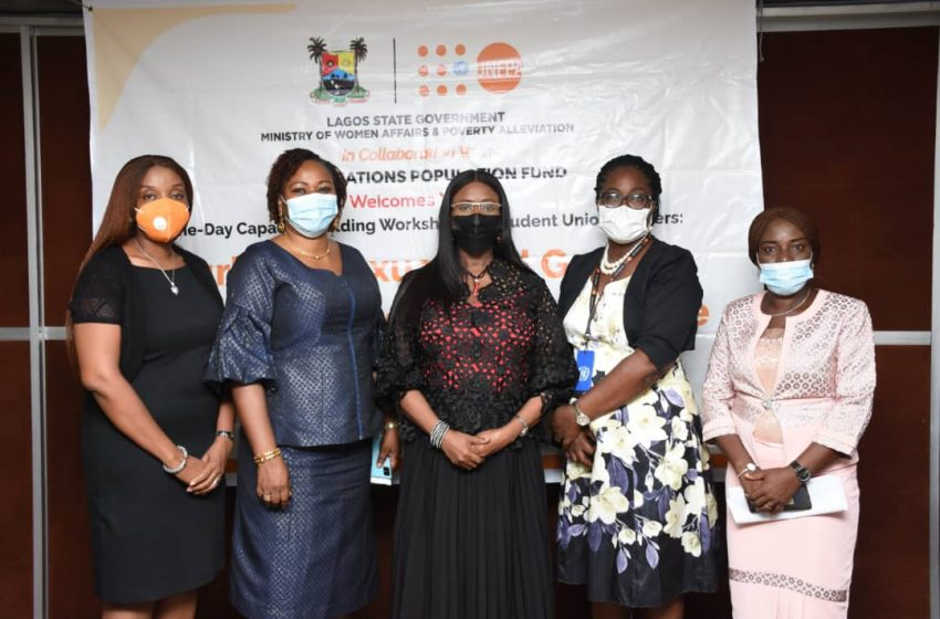 LAGOS, UNPF Organises Workshop For Student Union Leaders On Gender-based Violence