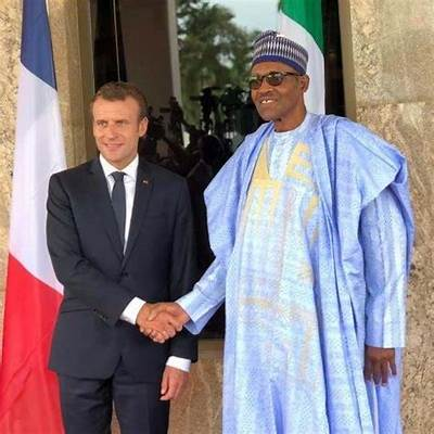 President Buhari, Macron Agree To Cooperate On Fight Against Insecurity