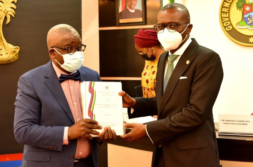 Sanwo-Olu Receives Lasu Panel Report On New Vc's Appointment.