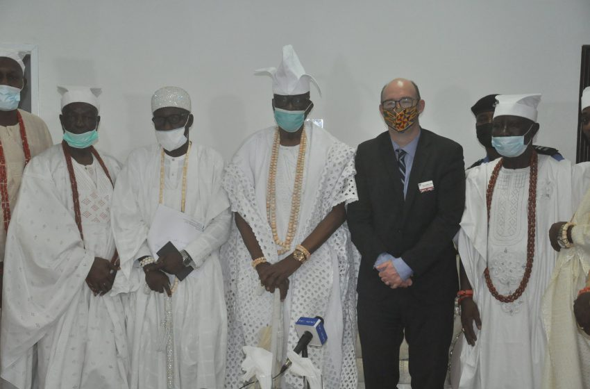 OBA AKIOLU SOLICITS BRITAIN'S SUPPORT TO END INSECURITY