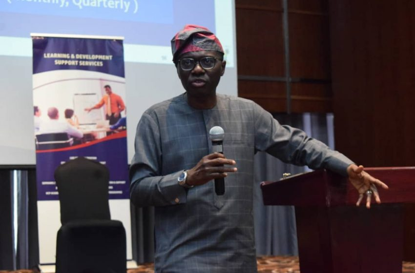 Sanwo-Olu Enjoins Public Servants To Embrace Strategic Planning For Quality Service Delivery.