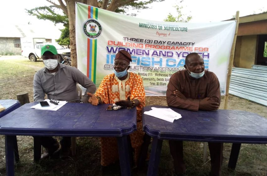 Lagos Begins Capacity Building For 120 Cage Fish Farmers.