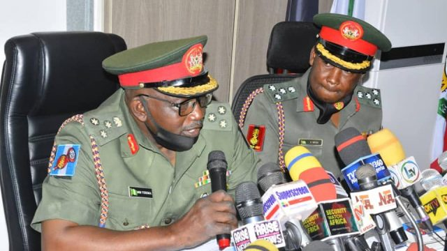 Army Refutes Report of Boko Haram Giving Ramadan Packages To Northeast Residents