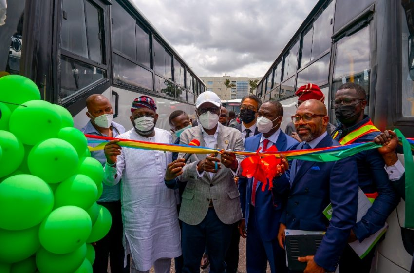 SANWO-OLU LAUNCHES 500 SAFE, SECURE FIRST-AND-LAST MILES BUSES