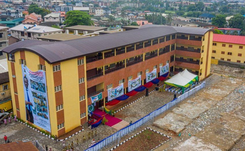 Sanwo-Olu Commissions 66-Classroom Blocks In Four Lagos Schools.