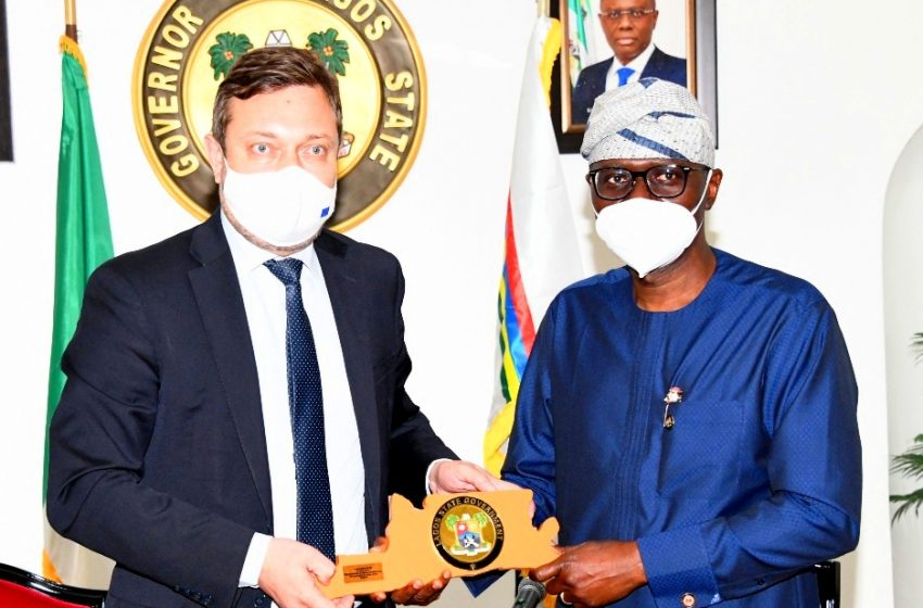 LAGOS WILL CONTINUE TO PARTNER WITH EU ON INVESTMENTS, SAYS SANWO-OLU