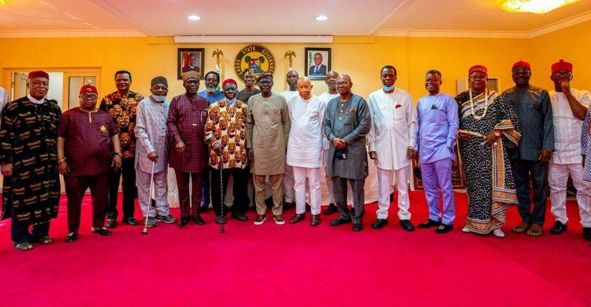 IPOB Threat: Ohanaeze Ndigbo Asks Sanwo-Olu To Ignore Rumoured Attacks In Lagos.