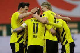 Dortmund secure Champions League spot with sixth straight Bundesliga win