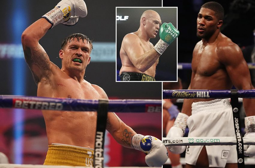 Joshua May Turn To Usyk As Court Orders Fury To Fight Wilder
