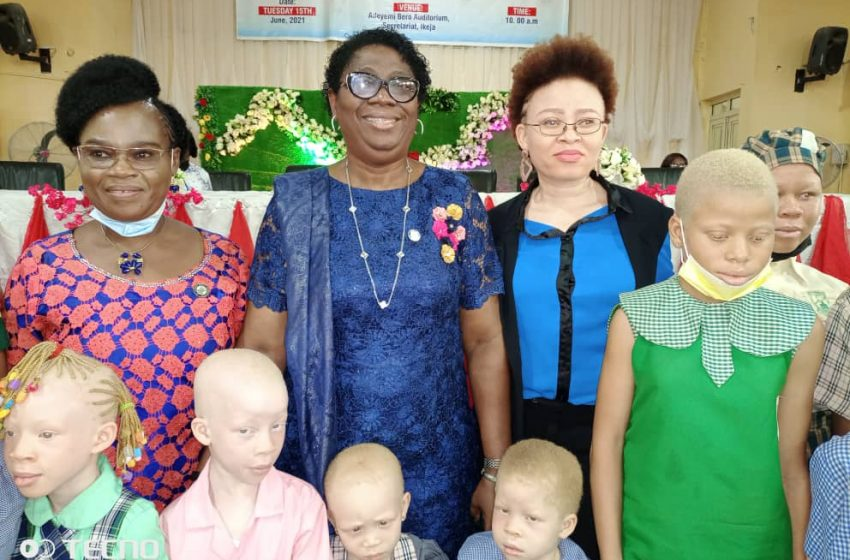 LASG CELEBRATES Y2021 ALBINISM AWARENESS DAY