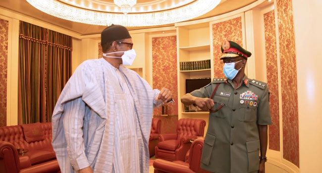 The President Also Calls For Synergy Among Security Agencies