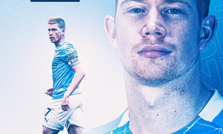 Manchester City's De Bruyne Wins PFA Player Of The Year