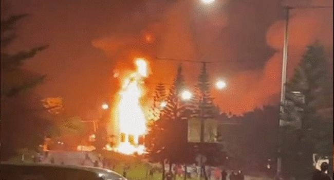 Three Dead, 13 Injured as Gas Explosion Rocks OPIC Plaza in Ikeja