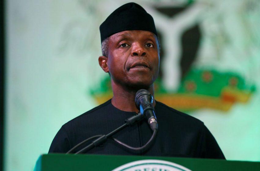 Nigeria needs leaders who will unite country, says Osinbajo