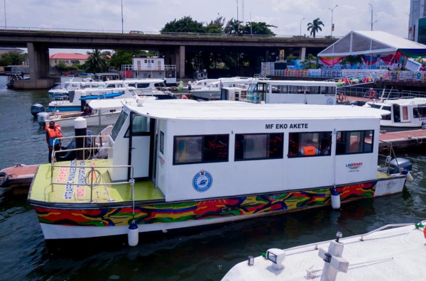 SANWO-OLU LAUNCHES SEVEN NEW HIGH CAPACITY BOATS TO BOOST WATER TRANSPORTATION