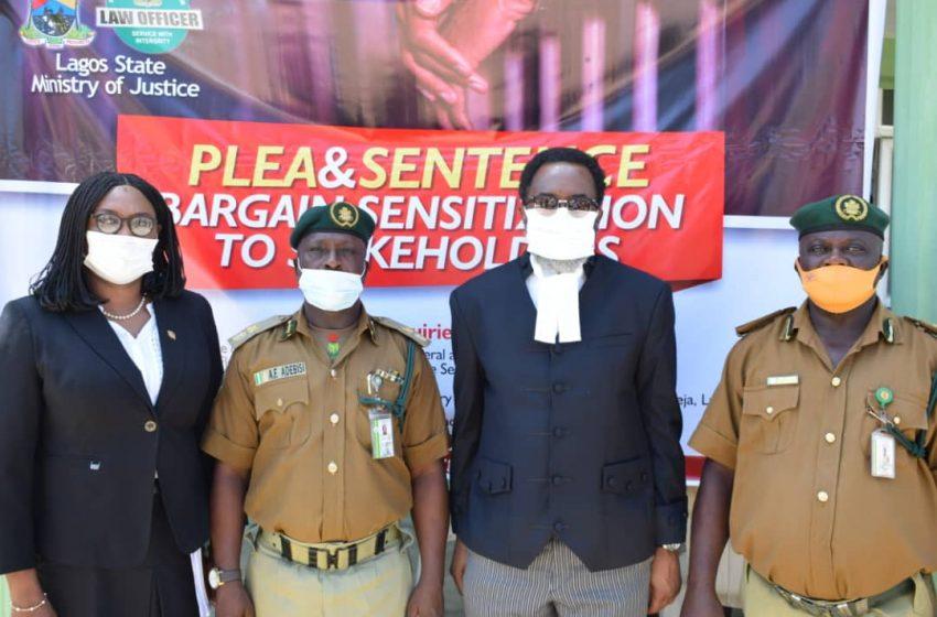 530 INMATES TAKE ADVANTAGE OF PLEA BARGAIN OFFER IN LAGOS.