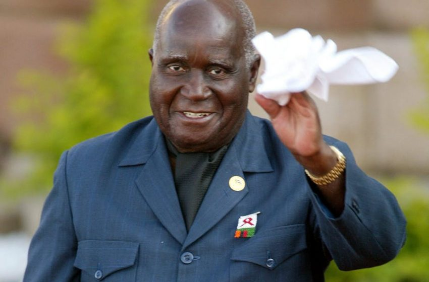 Kenneth Kaunda: Zambia's first president dies aged 97