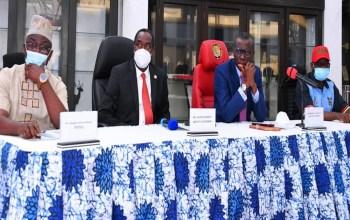 Governors' Forum Team Visits Lagos ToUnderstudy IGR Template