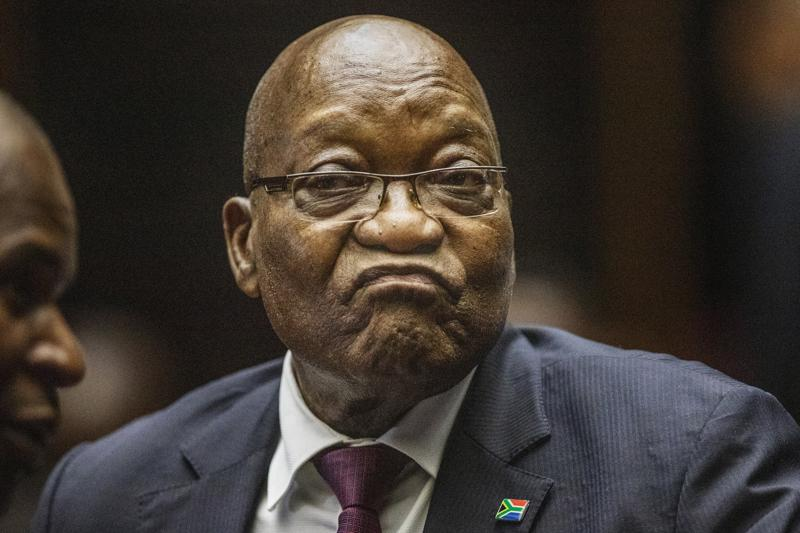 Ex-South African President Zuma Goes To Jail