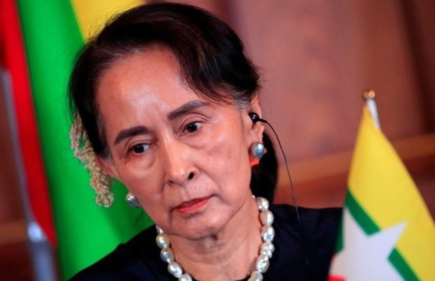 MYANMAR'S AUNG SAN SUU KYI FULLY VACCINATED AMID SPIKE IN COVID-19 CASES