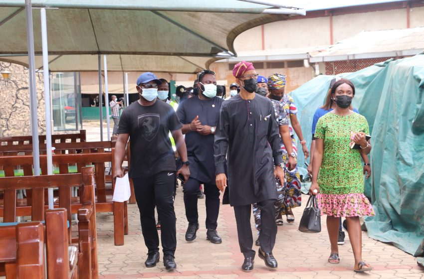 PROPHET TB JOSHUA'S BURIAL: LASG INSPECTS FACILITIES AT SCOAN TO PREVENT COVID SPREAD