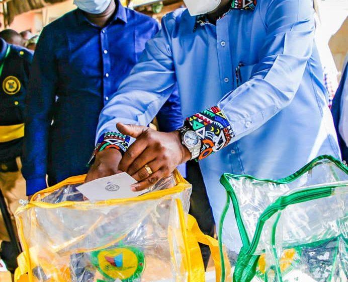 Lagos LG Polls: Sanwo-Olu Votes, Promises To Make Life Better For Lagosians.