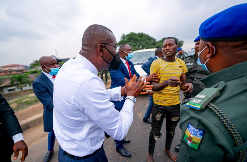 NO ROOM FOR CRIMINALS IN LAGOS AS SANWO-OLU ARRESTS SUSPECTED CRIMINALS IN OJOTA