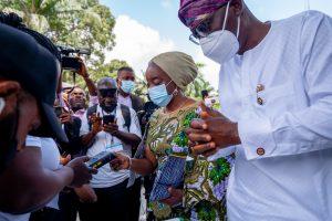 Lagos LG Polls: Sanwo-Olu Votes, Promises To Make Life Better For Lagosians