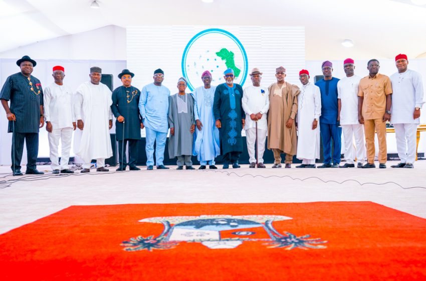 SOUTHERN GOVERNORS' FORUM MEETS IN LAGOS