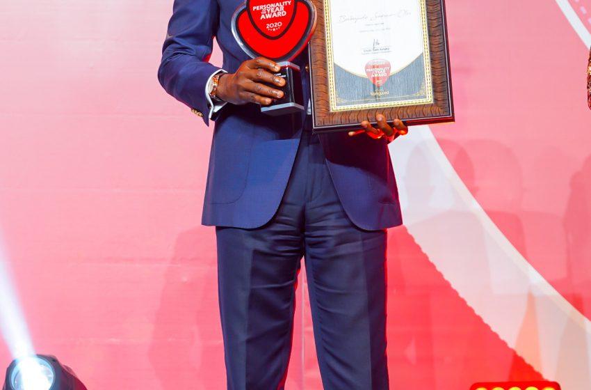 Governor Sanwo-Olu Wins Vanguard Personality Of The Year Award