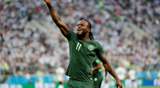 Victor Moses joins Spartak Moscow on permanent deal