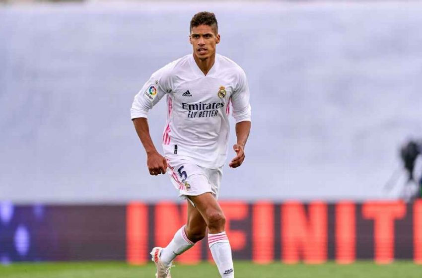 Manchester United agree deal to sign Real Madrid's Raphael Varane.