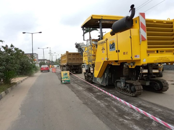 LASG Diverts Traffic On MBA Cardoso/Otto Wharf Road Section For Repairs
