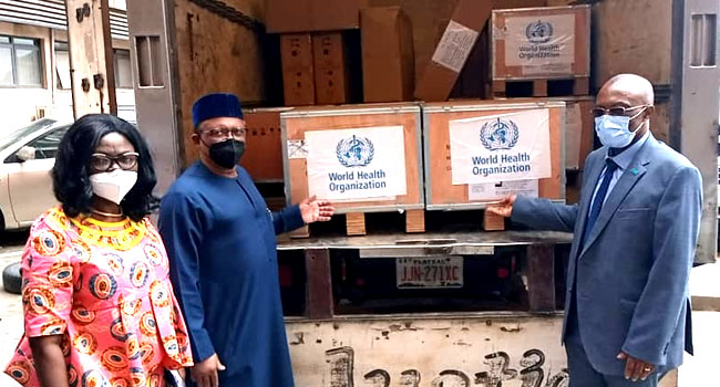 WHO Gifts Nigeria 26 Ventilators, Other Items To Fight COVID-19
