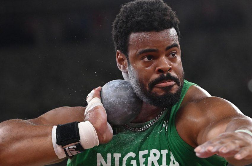 Nigeria's Enekwechi qualifies for men's shot put final