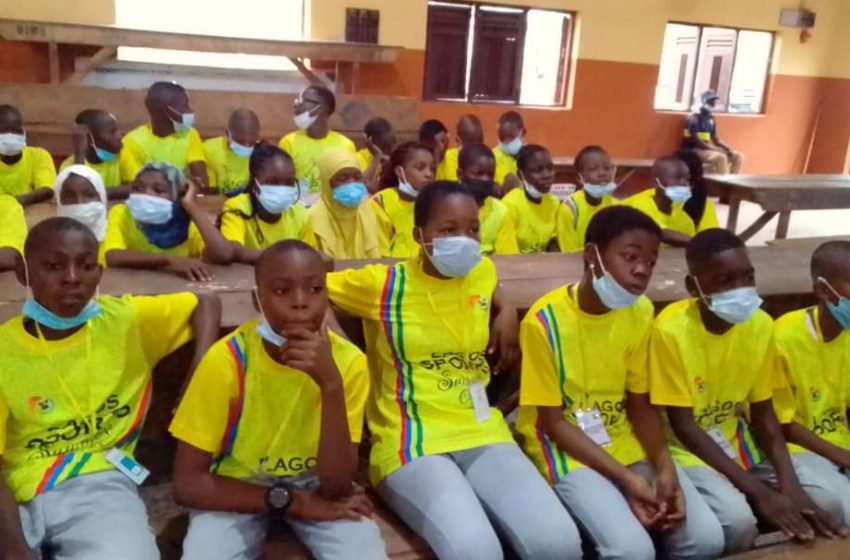 LAGOS SPORTS SUMMER CAMP PHASE II COMMENCES IN ORIWU COLLEGE, IKORODU