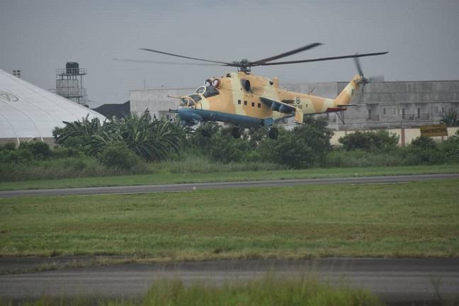Nigerian Military denies firing on cargo boat on Bonny River.