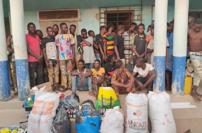 43 Drug dealers arrested in fresh raids in Ondo, Nasarawa, Benue