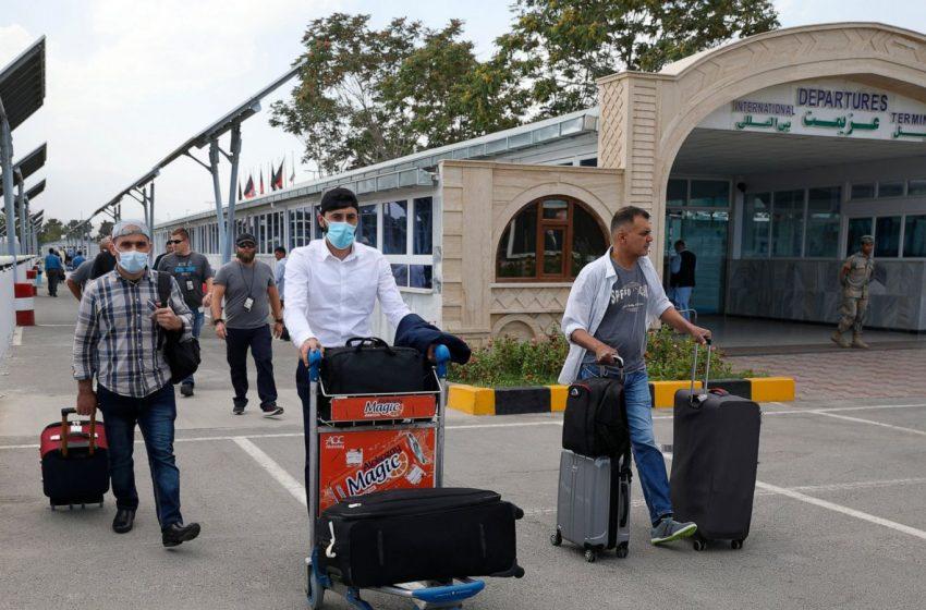U.S. Evacuates Embassy Staff In Afghanistan To Kabul's Airport