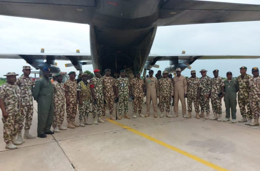 COAS Launches Welfare Flight For Troops