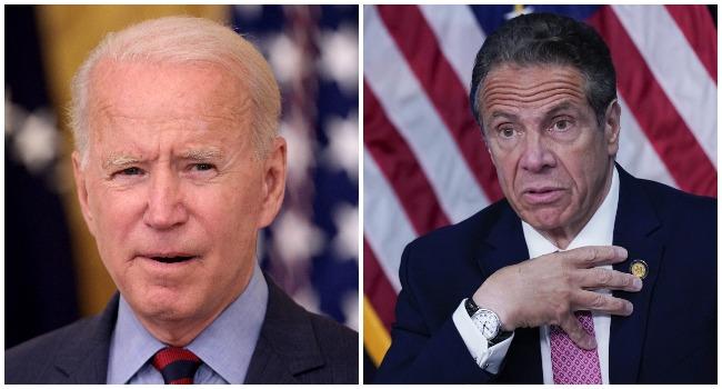 Biden Asks New York Governor To Resign After Harassment Report.