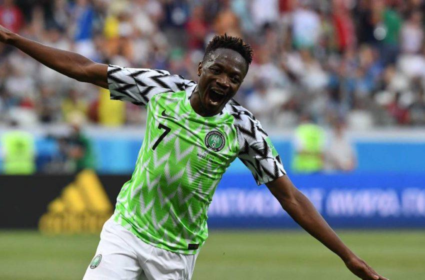 NIGERIA VS CAPE VERDE: AHMED MUSA CELEBRATES 100TH CAP WITH VICTORY