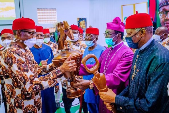 Buhari meets South East Leaders, says Unthinkable for Igbo to Secede.